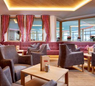 Der neue Loungebereich an der Bar Kinderhotel Felben