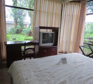 Schlafzimmer Hotel Montana de Fuego