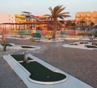 Minigolf Skanes Family Resort