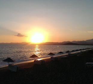 Strand in Richtung Götcek Hotel Günes