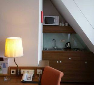 Kleine Küche Hotel Holiday Inn Nürnberg City Centre
