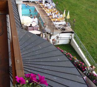 Aussenpool Hotel Bellevue & Austria