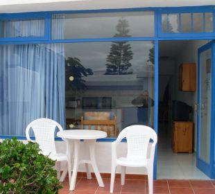 Außenansicht des Bungalows / Terrasse Hotel Jable