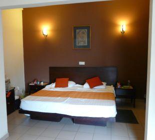 Der Schlafbereich Shalimar Hotel