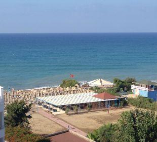 Ausblick auf die Beachbar