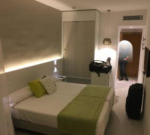Zimmer nach innen JS Hotel Sol de Alcudia