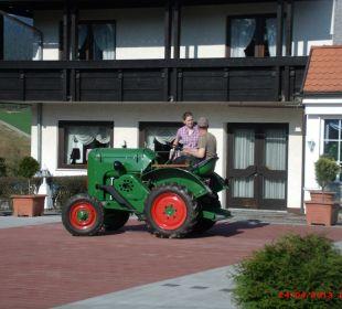 Oldtimer Traktor Landhotel Rappenhof