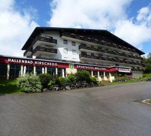 Hotel mit Schwimmbad Sporthotel Walliser