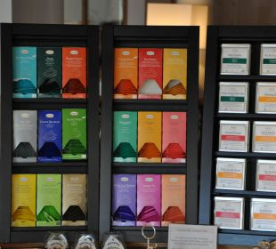 Teeauswahl Leading Family Hotel & Resort Alpenrose