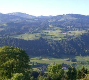Ausblick Süd-/Ostbalkon Berghof am Paradies