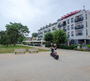 Außenansicht Strandhotel Heringsdorf