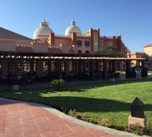 Terrasse der Lobby
