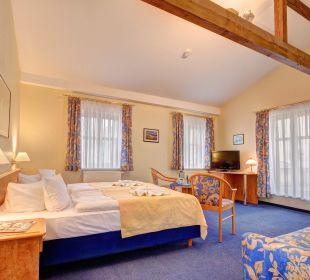 3-Bett-Zimmer Komfort - Raum mit 2 Betten Haus Seeblick Hotel Garni & Ferienwohnungen