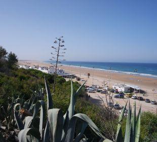 Strand unterhalb des Hotels Fuerte Conil & Costa Luz Resort