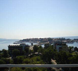 Hotelblick auf Nessebar Hotel Sol Marina Palace
