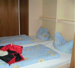 Schlafbereich Hotel Pfeiffermühle