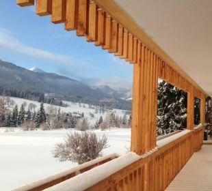 Blick auf unsere herrliche Landschaft vom Balkon Bauernhof Lindenhof