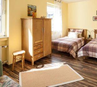 Zweites Schlafzimmer Ferienwohnung Schau Rhein