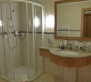 Bad mit sep. WC - Junior-Suite Wohlfühlhotel Ortnerhof