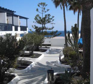 Gartenanlage mit Appartements Bungalows & Appartements Playamar