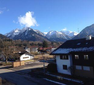 Blick vom Balkon Oberstdorfer Ferienwelt