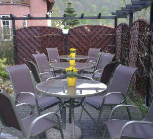 Gemütliche Sitzecke Hotel Sonneneck