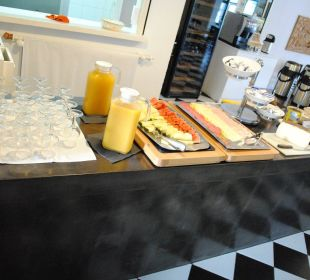Frühstücksbuffet Hotel Poseidon Bahia