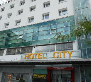 Eingangsbereich Hotel City