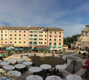 Die Aussicht im inneren Bereich vom Colosseo Hotel Colosseo Europa-Park