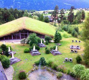 Garten und Tennishalle Kaysers Tirolresort