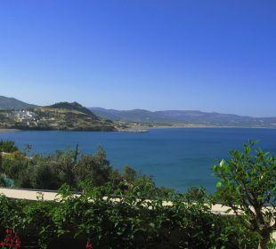 Vue sur la baie, de la chambre Hotel Lindos Blu