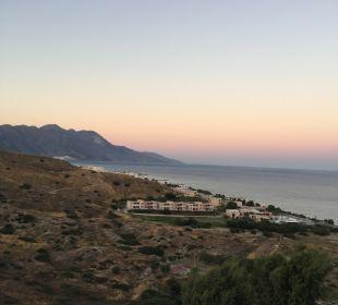 Ausblick Hotel Lagas Aegean Village