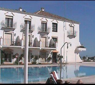 Terrasse mit Pool TRH Mijas