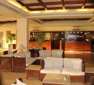 Grosszügige Lobby Achti Resort Luxor