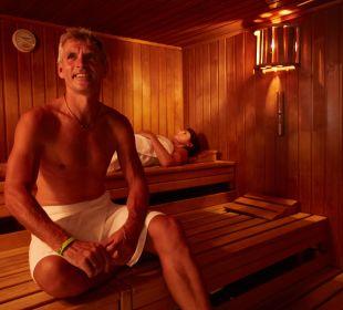 Unsere Sauna im Wohlfühlbereich Hotel Mohren