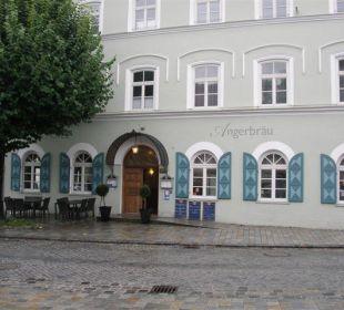 Eingang Hotel Angerbräu