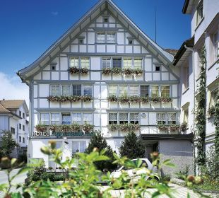 Fassade Appenzellerhof Hotel Appenzellerhof