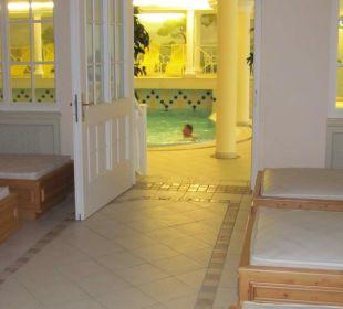 Ruheraum mit Wasserbetten Hotel Bellevue & Austria