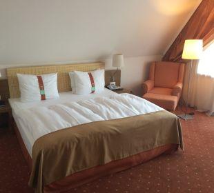 Sehr bequemes Bett Hotel Holiday Inn Nürnberg City Centre