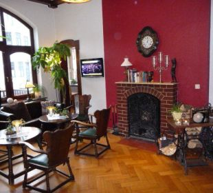 Lobby mit Kamin und Bar Hotel Residence Bremen