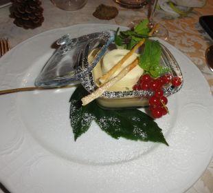 Tortino gelato al mascarpone con cappuccino freddo Hotel Monika