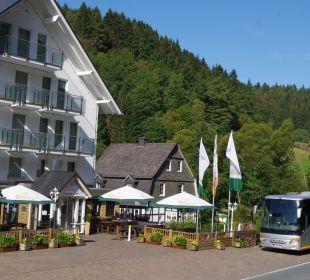 Haus am Stein Haupteingang Hotel Haus am Stein