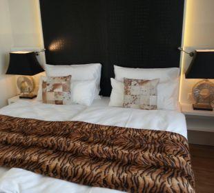 Schlafzimmer Amedia Luxury Suites Graz