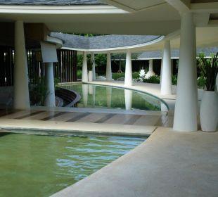 Teil vom Lobbyaussenbereich Hotel Mercure Koh Chang Hideaway