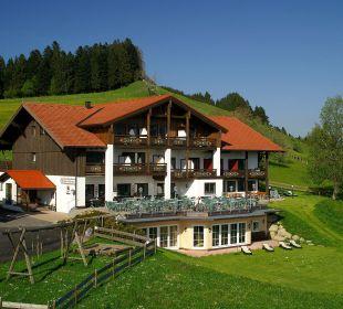 Außenansicht Sommer Berghof am Paradies