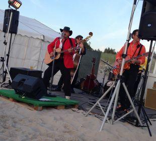 Strandparty mit Live-Musik Strandhotel Fischland