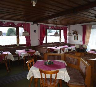 Frühstücksraum Gästehaus Geist