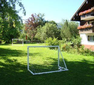 Spielbereich im Garten Hotel Mühlenhof