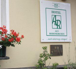 Außenansicht Hotel-Pension Alt-Rodenkirchen