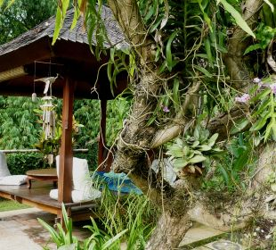 Gartenanlage Saraswati Holiday House
